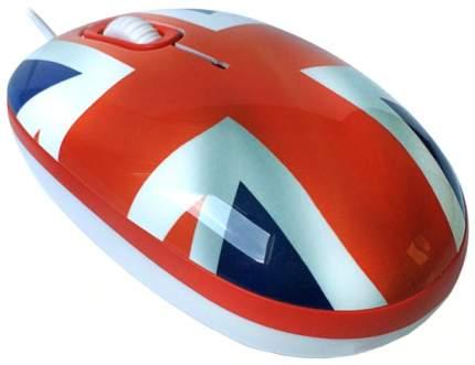 Проводная мышка CBR CBR Breakfast Red/Blue