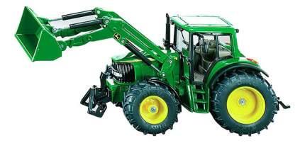 Трактор Siku Джон Дир с ковшом зелёный