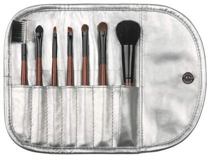 Кисть для макияжа LIMONI Silver Travel Kit 7 шт