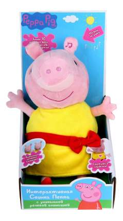 Мягкая игрушка Peppa Pig Росмэн Пеппа 30 см (звук) 30567