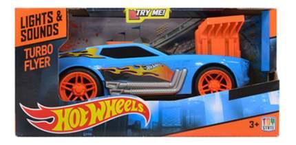 Машинка Hot Wheels Turbo Rush - Twinduction синяя