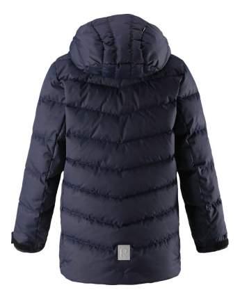 Куртка детская Reima Janne темно-синяя для мальчика 158 размер