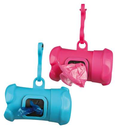 Контейнер пластиковый для уборочных пакетов за животными TRIXIE с 15 пакетами, 3л