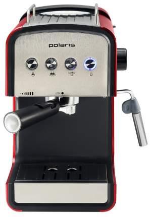 Рожковая кофеварка Polaris PCM 1516E Adore Crema Red