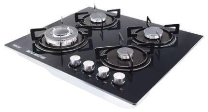 Встраиваемая варочная панель газовая Ginzzu CG-445 Black