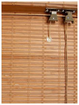Римская штора Эскар Tina 160х60 цвет коричневый