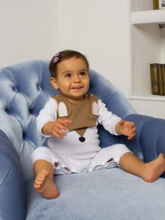 Комбинезон детский CombiKids Лисичка с ушками 100 р-р