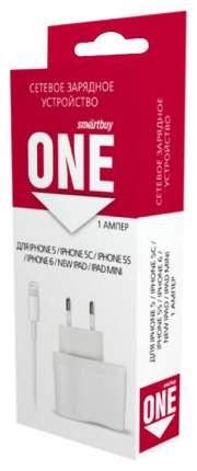 Сетевое зарядное устройство SmartBuy One SBP-3350 1 USB 1A White