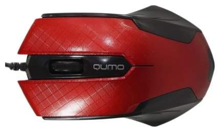 Проводная мышка QUMO M14 Red/Black