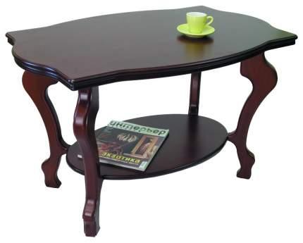 Журнальный стол Мебелик 56x94x60 см, коричневый