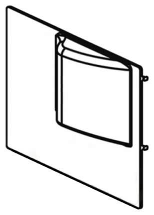Комплектующие для клеток Ferplast Olimpia 120045-1 прозрачная крышка