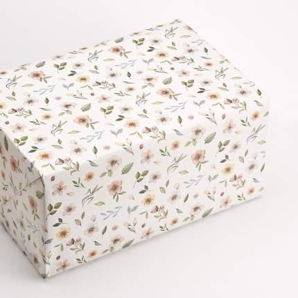 """Упаковочная бумага """"Watercolor Flowers"""""""