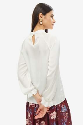 Блуза женская D&M by 1001DRESS DM01689WH белая XS