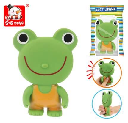 """Игрушка-пищалка для ванны """"Лягушка """" S+S Toys"""