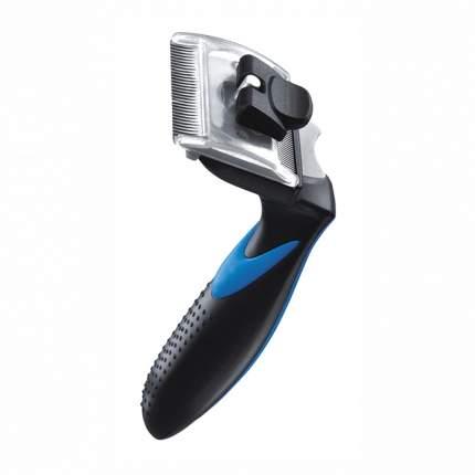 Инструмент для шерсти собак FurBrush ZIVER-501, двусторонний, черный, S, 4,45 см