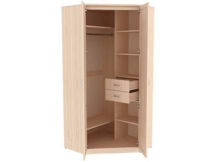 Платяной шкаф Уют сервис Мерлен 403 94х106х221,6, молочный дуб