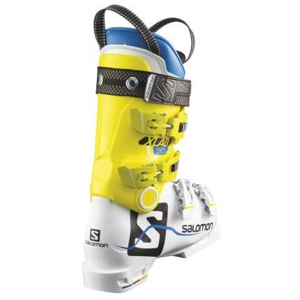 Горнолыжные ботинки Salomon X Lab 90 2018, white/yellow, 24.5