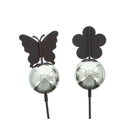 Штекеры декоративные 'Серебряные шары', 2шт (05159)