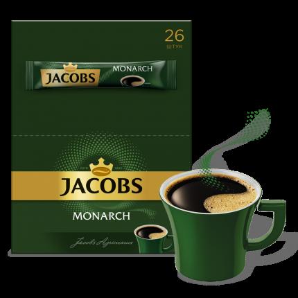 Кофейный напиток растворимый Jacobs monarch сублимированный 1.8 г