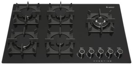 Встраиваемая варочная панель газовая GEFEST ПВГ 2341 Black