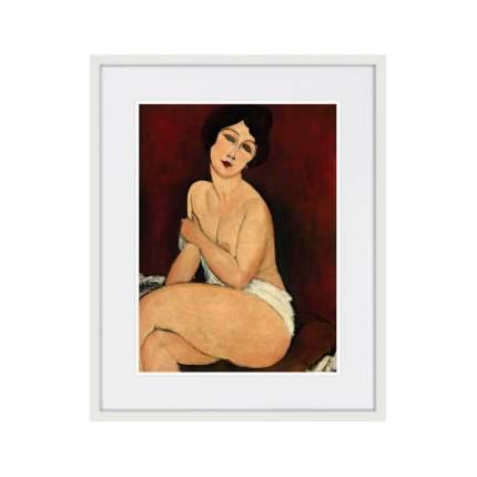 Картина La belle Romaine, 1917г., 52 x 42 см, Картины в Квартиру