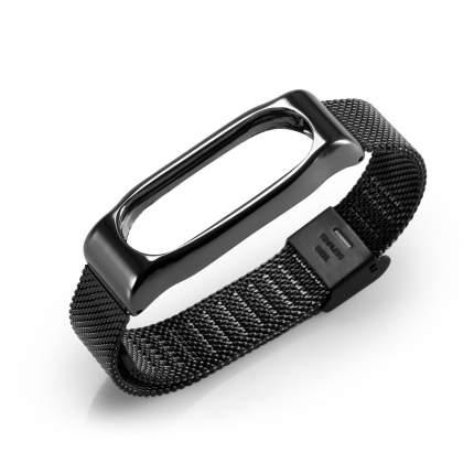 Ремешок-браслет Сетчатый металлический для Mi Band 3 Metal Mesh Strap Black