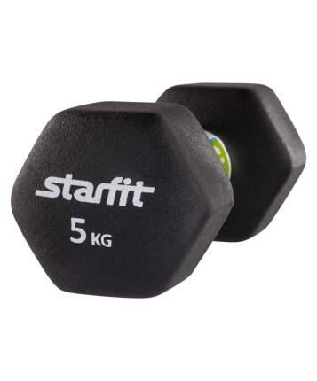 Гантель неопреновая StarFit DB-201 5 кг
