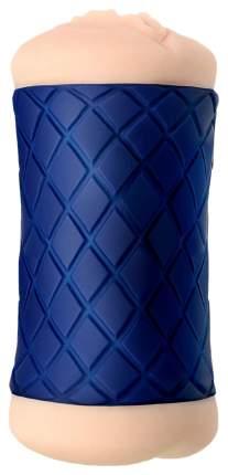 Двухсторонний мастурбатор JOS LULU в синем цилиндре