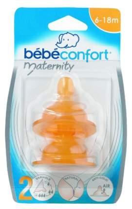 Комплект из двух сосок Bebe Confort Maternity 6 - 18 мес., латекс 30000026