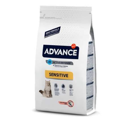 Сухой корм для кошек Advance Sensitive, лосось, 15кг