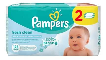 Детские влажные салфетки Pampers, 128 шт.