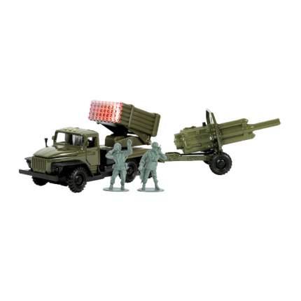 УРАЛ инерционный, металлический Технопарк град военный