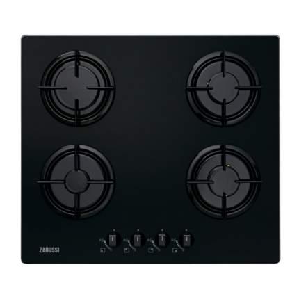 Встраиваемая варочная панель газовая Zanussi ZGO65414BA Black