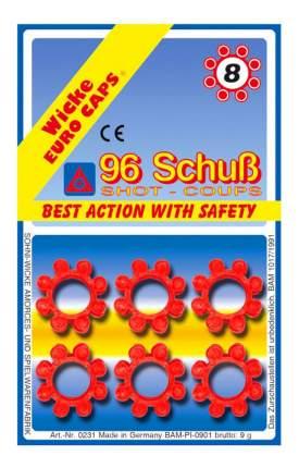 Пистоны Sohni-Wicke 8-зарядные 96 шт. блистер упаковка-карта