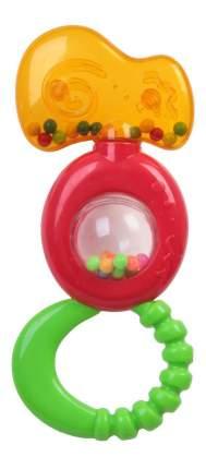 Погремушка пластиковая, с прорезывателем и шариком внутри Bondibon 22,4х16,5 см