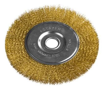 Дисковая кордщетка для угловых шлифмашин Stayer 35122-175