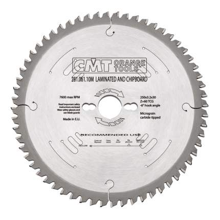 Пильный диск по дереву  CMT 281.061.10M