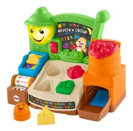 Касса игрушечная Fisher-Price Прилавок с фруктами и овощами FBM32