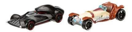 Набор машин Hot Wheels Оби-Ван Кеноби и Дарт Вейдер CGX02 CGX06