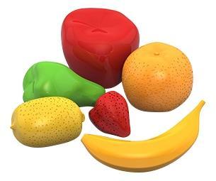 Набор НОРДПЛАСТ фрукты 6 предметов в пакете