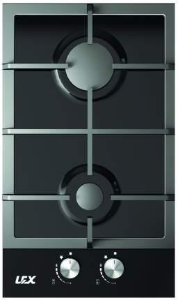 Встраиваемая газовая панель независимая Lex GVG 320 BL