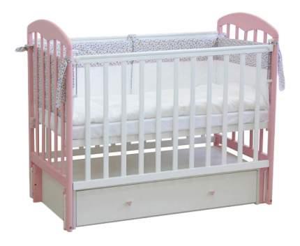Кровать-маятник детская Фея 328 Белая-Магнолия