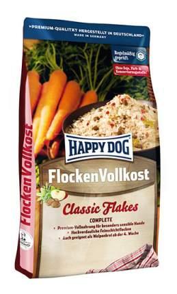 Сухой корм для собак и щенков Happy Dog FlockenVollkost Classic Flakes, злаки, овощи, 3кг