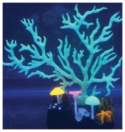 Коралл светящийся силиконовый, 9х7х16,5см