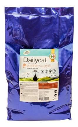 Сухой корм для кошек Dailycat Steri Lite, для стерилизованных, индейка и рис, 10кг
