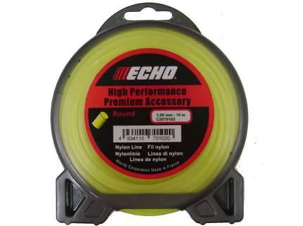 Леска для триммера Echo Round Line 3.0мм/15м (круглый) (C2070102)