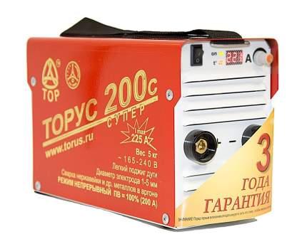 Сварочный инвертор ТОРУС 200с с комплектом проводов