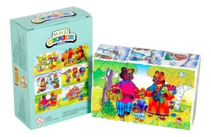 Детские кубики Десятое королевство Мир сказок 5