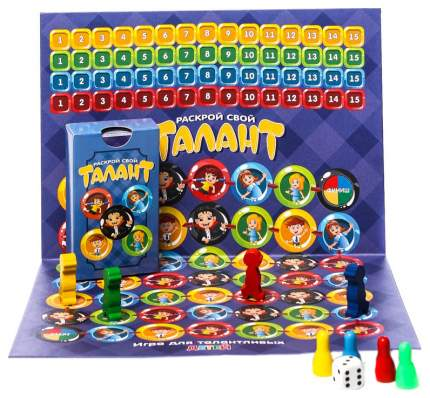 Семейная настольная игра Play Land Раскрой свой Талант для детей L-169