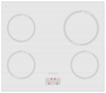 Встраиваемая варочная панель индукционная Zigmund & Shtain CIS 299.60 WX White